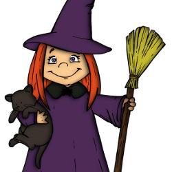 占い師の魔女っ子